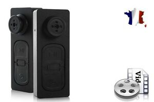 Details about Button Camera - Mini Spy Camera DVR - Video and Photo - SD  Card