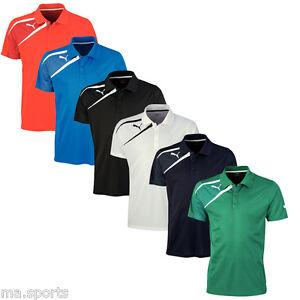 Puma-Mens-Training-T-shirts-Team-Wear-Spirit-Polo-Football-Fashion-Casual