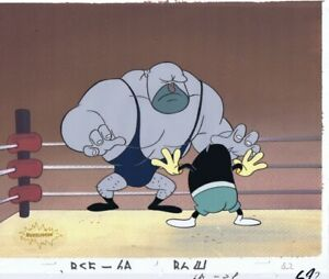 Ren-amp-Stimpy-Original-Production-Cel-Cell-Animation-Art-Mad-Dog-Spumco-Lout-90s