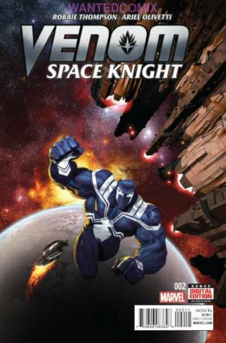 VENOM SPACE KNIGHT #2 DEC 2015 MARVEL COMIC BOOK FLASH /& KLYNTAR NEW 1