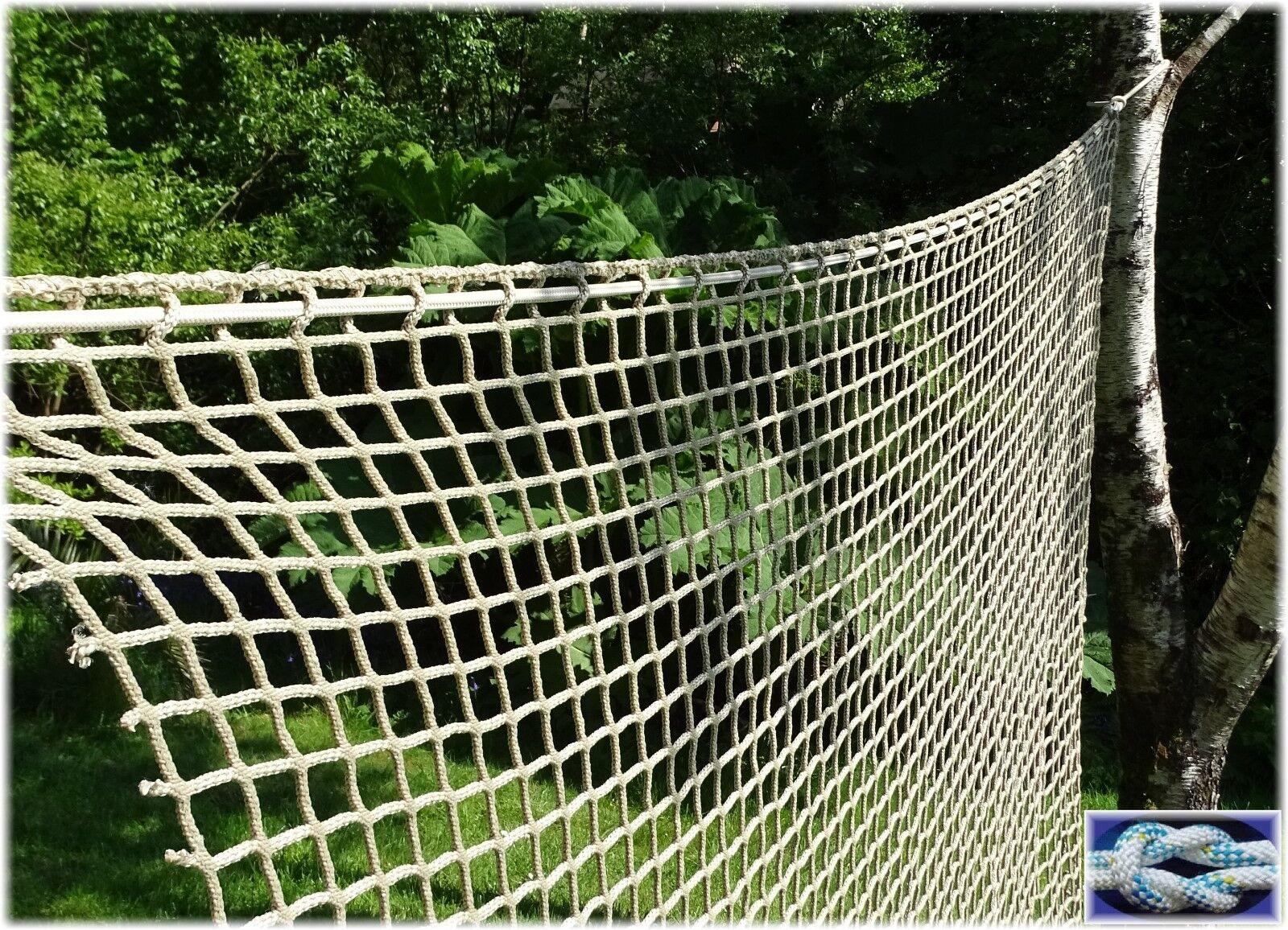 Kletternetz, Hängesessel, Hängematte, 2m BREITE METERWARE Schutznetz, Hängesessel, Kletternetz, Spielnetz 7df09b