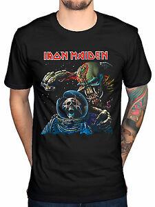 2a66c30e Official Iron Maiden Final Frontier T-Shirt Brave New World Fear Of ...