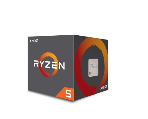 AMD Ryzen 5 1600 Processor 19MB Cache 3.6 GHz Precision Boost with Wraith Cooler