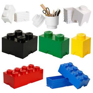 legostein aufbewahrung box beh lter kiste dose im original lego noppen design ebay. Black Bedroom Furniture Sets. Home Design Ideas
