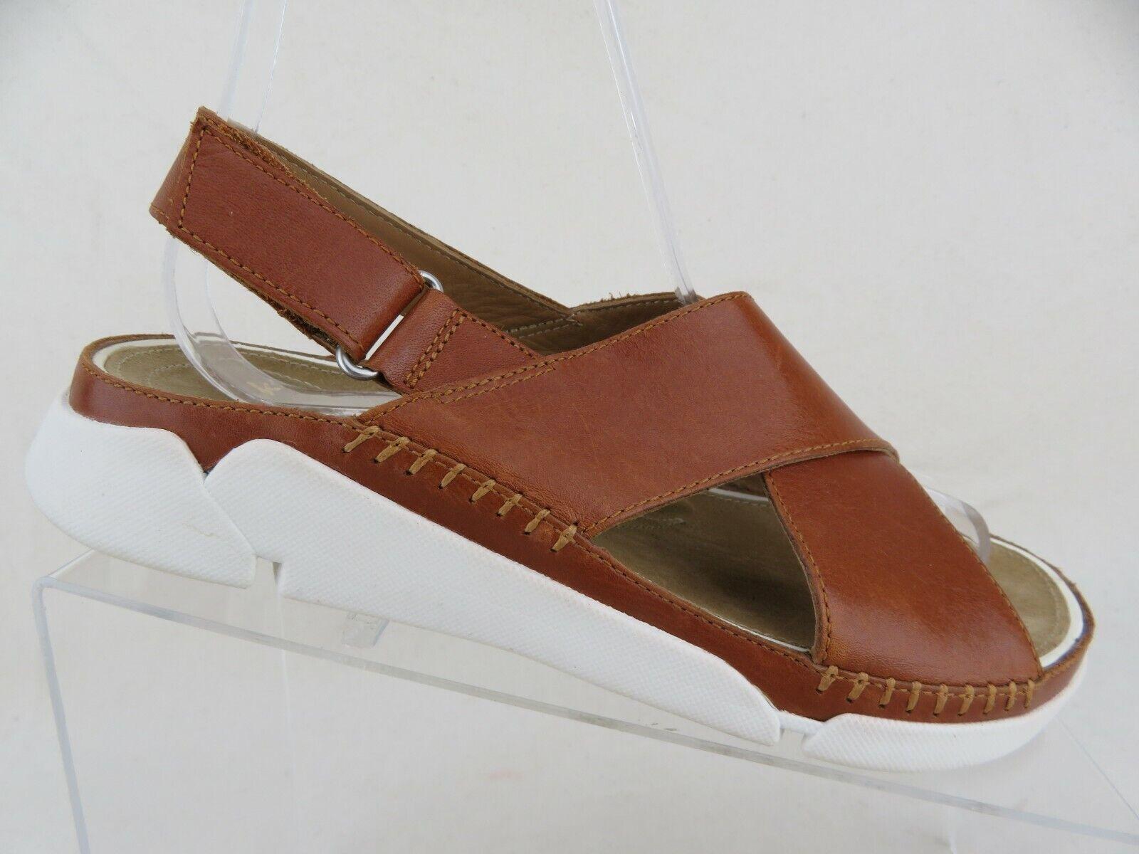 Clarks Artisan trigenic marron sz 6.5 M femmes Sandales en cuir