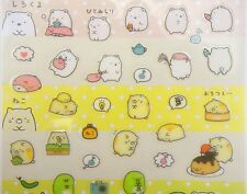 Cute Japanese Sumikko Gurashi stickers! Kawaii San-X small planner stickers, cat