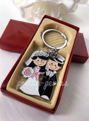 60-Wedding Love Party Favors Couple Giveaways Keychains Recuerdos Nuestra Boda