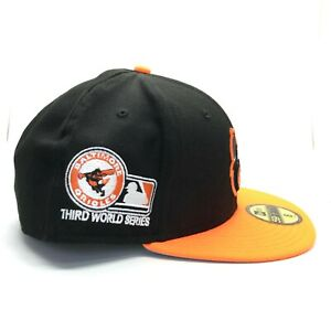 quality design 4c3b1 062a6 Image is loading Baltimore-Orioles-Third-World-Series-59FIFTY-New-Era-