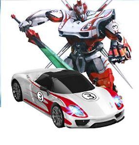 Mz Transformers 2337p Jazz Toy Rc Ir Robot Porsche Car Bumblebee