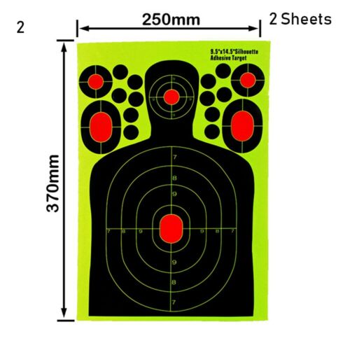 Hunting Pratice Paper Substitute Shooting Stickers Patches Target Paster