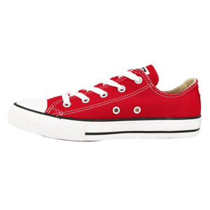 b7f56c11d3fdb CONVERSE CHUCK TAYLOR ALL STAR OX CHAUSSURES ROUGE m9696c Baskets de ...