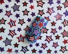 Nail Art Lace Stickers Decals Transfers Glitter Stars (733)