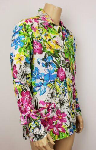 22 vintage Vintage uomo Shirt Crazy stile Floral Camicia 22 floreale 5 Fresh Festival vintage boho '70 P2p da pazzo P2p fresco Prince anni 5 Style principessa Mens 70s Boho 4RqRwpInaW