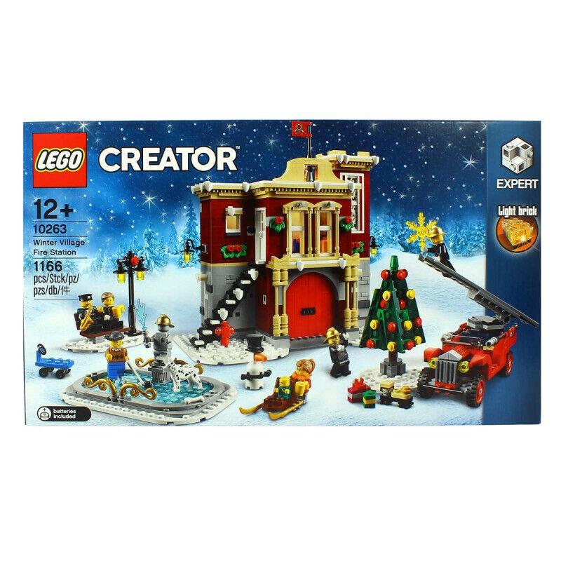 Lego Creator Parc Expert Pompier Christmas