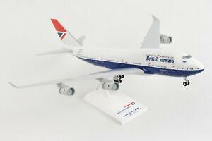 SKYMARKS-BRITISH-AIRWAYS-034-NEGUS-034-747-400-1-200-SCALE-PLASTIC-SNAPFIT-MODEL
