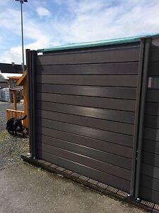 3x Wpc Sichtschutzzaun Terrassenzaun Gartenzaun Dichtzaun