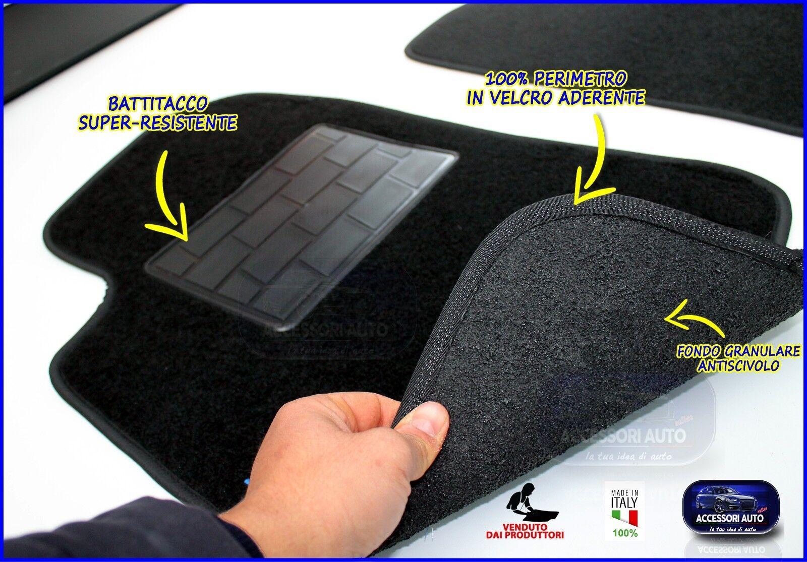 Wagon 2009/>2013 Grip NO LOGO Tappetini Moquette Auto per Opel Insigna St