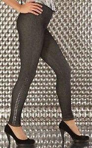 Legging-collant-Sanselle-femme-effet-jeans-cloute-sur-le-bas-taille-unique
