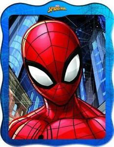 Marvel Spiderman 3D model, tin, book and model instructions.