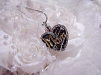Heart Mom Stainless Cremation Urn W/funnel Necklace Ash Jewelry Mother Ashes