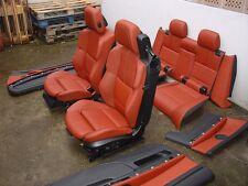 Inkl. UMBAU BMW E93 M3 Cabrio LCI Lederausstattung Sportsitze fuchsrot Sitze TOP