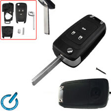 Vauxhall 3 Botón Remoto Clave Fob Astra J Insignia 13500235 puede cortar y PROGRAMA