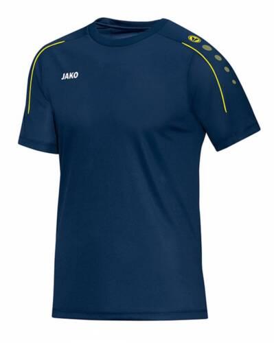 Jako Classico T-Shirt nachtblau-citro NEU 79403