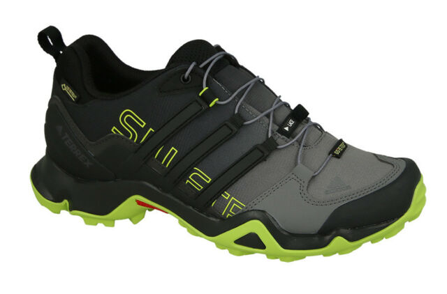 Adidas Terrex Swift R GTX Trail Running Scarpe Uomo Nera Scarpa da Sterrato 63812624c98