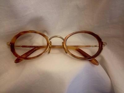 Montatura Frame Genny Metallo Dorato Recente Used Aspetto Elegante