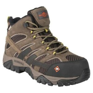 Merrell-Moab-2-Vent-Mid-Size-J15753-Composite-Toe-CT-Waterproof-Boot-Size-10