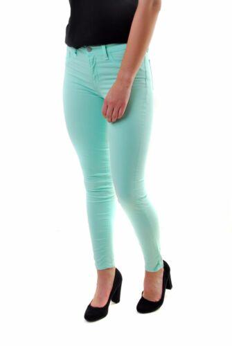 Jeans Brand W28 J media donna 811k120 di gamba altezza da Mint 198 Bcf610 a Green dritta Rrp fIgrFxf