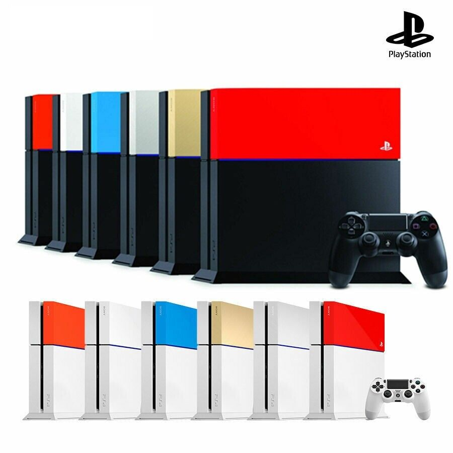 ps4 CUSTOM FACEPLATE COVER Official Sony New HDD Case Top Cover Genuine