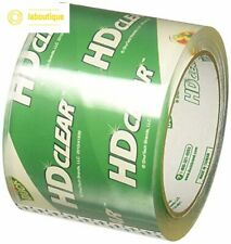 Duck Brand Hd Clear High Performance Packing Tape 3 Inch 546 Yard 6 Rolls