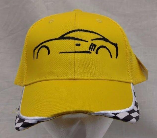 Camaro Chevy Embroidered Cap NWT Yellow w/ Black Mesh Mesh Mesh Back e184c9