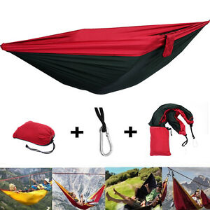 Camping & Hiking Portable Outdoor Camping Hammock With Mosquito Net Parachute Fabric Simple Tent In The Tree Outdoor Travel Picnic Hiking Bright In Colour