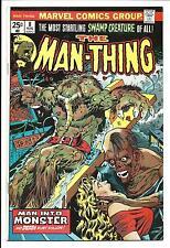 MAN-THING # 8 (PLOOG COVER & ART, AUG 1974), VF/NM