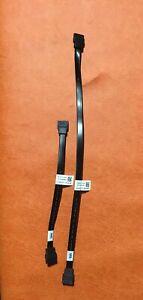 SET-Dell-Optiplex-DT-790-990-7010-9010-Blck-SATA-Cable-1-Feet-7-Long-Cable-Set