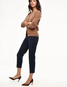 Boden-Hose-Bistro-Crop-Trousers-Damenhose-Schwarz-Stretch-NEU-UK-6-EU-34