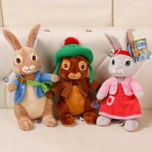 Peter-Rabbit-Lilly-Bobtail-Benjamin-Bunny-Stuffed-Plush-Soft-Toy-Kids-Xmas-gift
