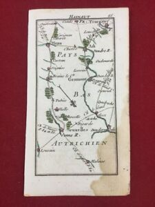 Bruxelles 1775 Beauvais Tournai Mons Pays Bas Autrichien Pontoise