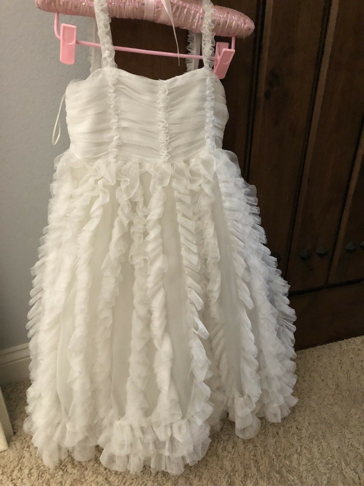 Girls Sweet Pattis Special Occasion Wedding Flower Girl Communion Dress NWT Sz 6