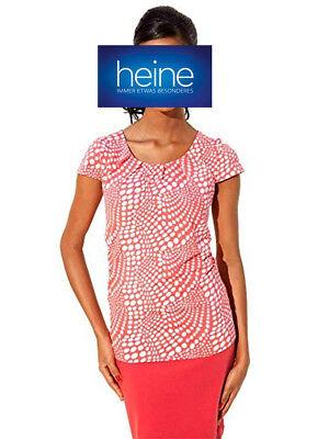 B.C Leo-Koralle NEU!! by Heine Druck-Pullover KP 49,90 € SALE/%/%/%