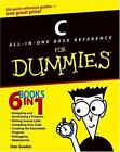 C All-in-One Desk Reference for Dummies® by Sandra Geisler and Dan Gookin (2004, Paperback)