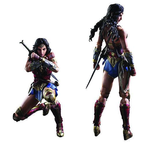 DC Comics variante 10 pulgadas figura de acción Jugar Arts Kai-Mujer Maravilla