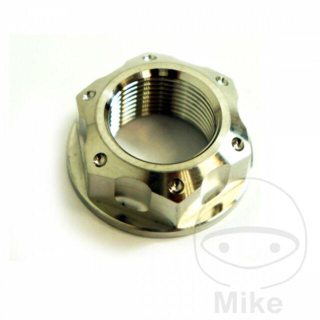 Suzuki GSR 600 U 2009 JMP A4 Steel Axle Nut M22 X 1.50 32mm for sale online