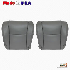 For 2007-2013 Toyota Tundra Base W//T-Driver Side Lean Back Vinyl Seat Cover Gray