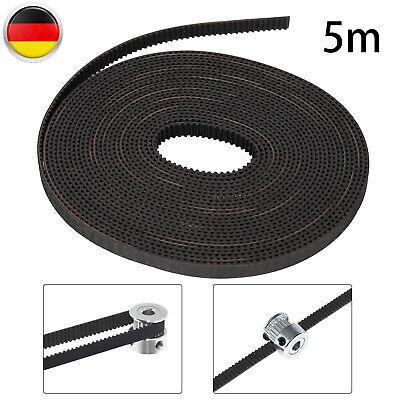 5 Meter GT2 Zahnriemen Gürtel Timing Belt 6mm für 3D Drucker Drucker CNC