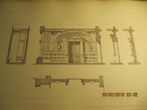 Planche-Chateau-de-WESPELAER-Grand-vestibule-d-039-entree-1893