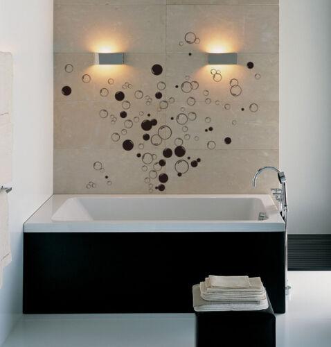 90x Burbujas Baño Vinilo adhesivos de pared hogar bricolaje Mural Cancel