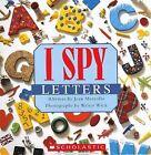 I Spy Letters by Jean Marzollo (Hardback, 2012)